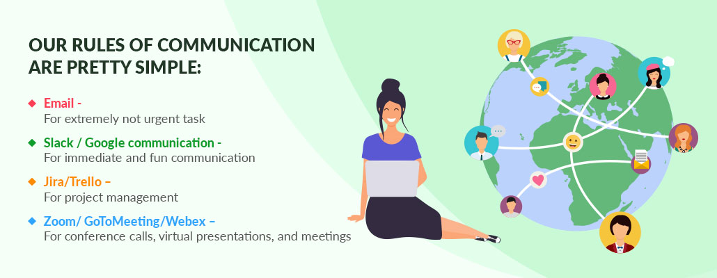 Rules of Communication at clarion