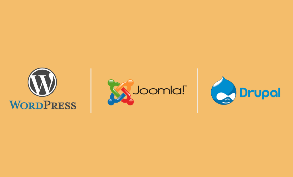 WordPress vs. Joomla vs. Drupal