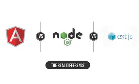 AngularJS vs. NodeJS vs. ExtJS