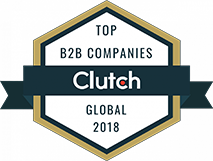 Top B2B Companies Clutch Award