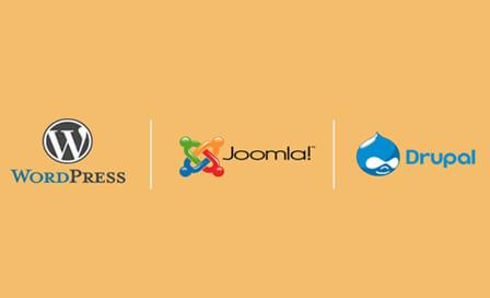 WordPress vs. Joomla vs. Drupal