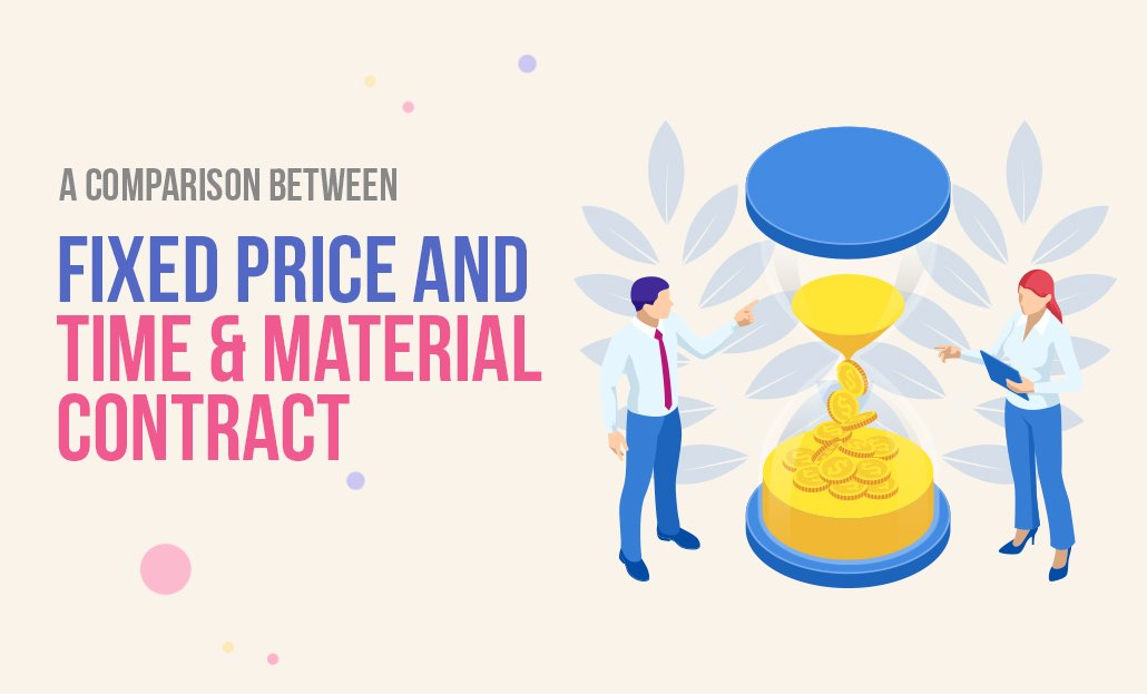 A comparison between Fixed Price and Time and Material Contract