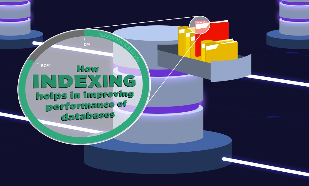 How indexing helps in improving performance of databases.