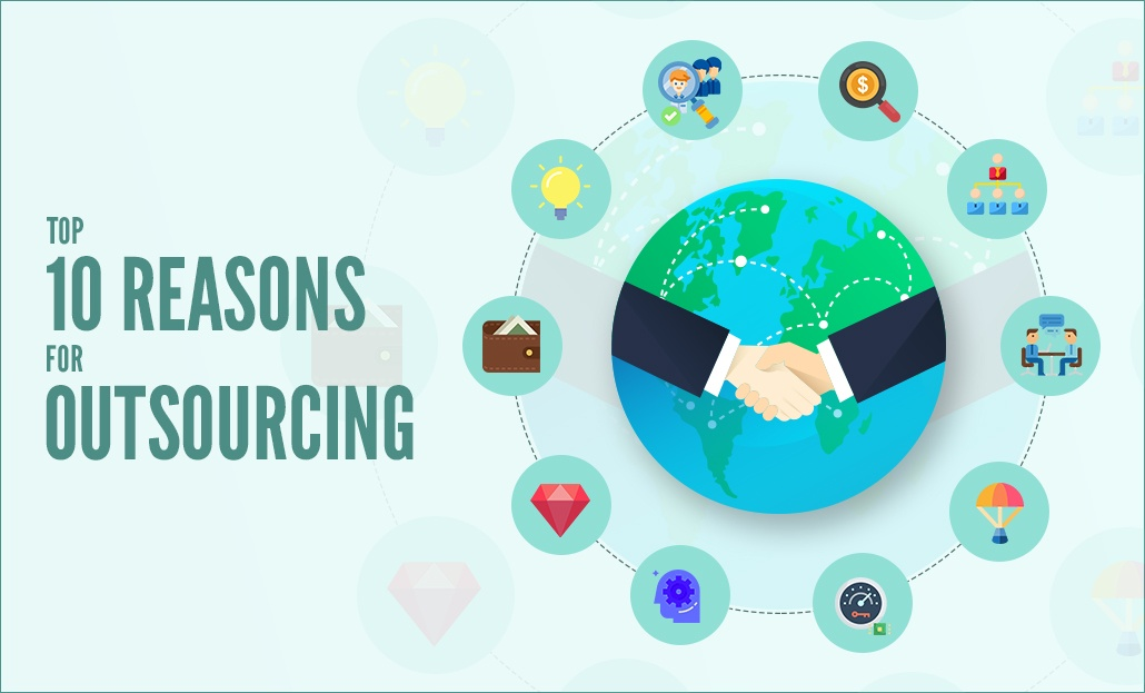 The Top 10 Reasons for Outsourcing that you may have overlooked all this while!
