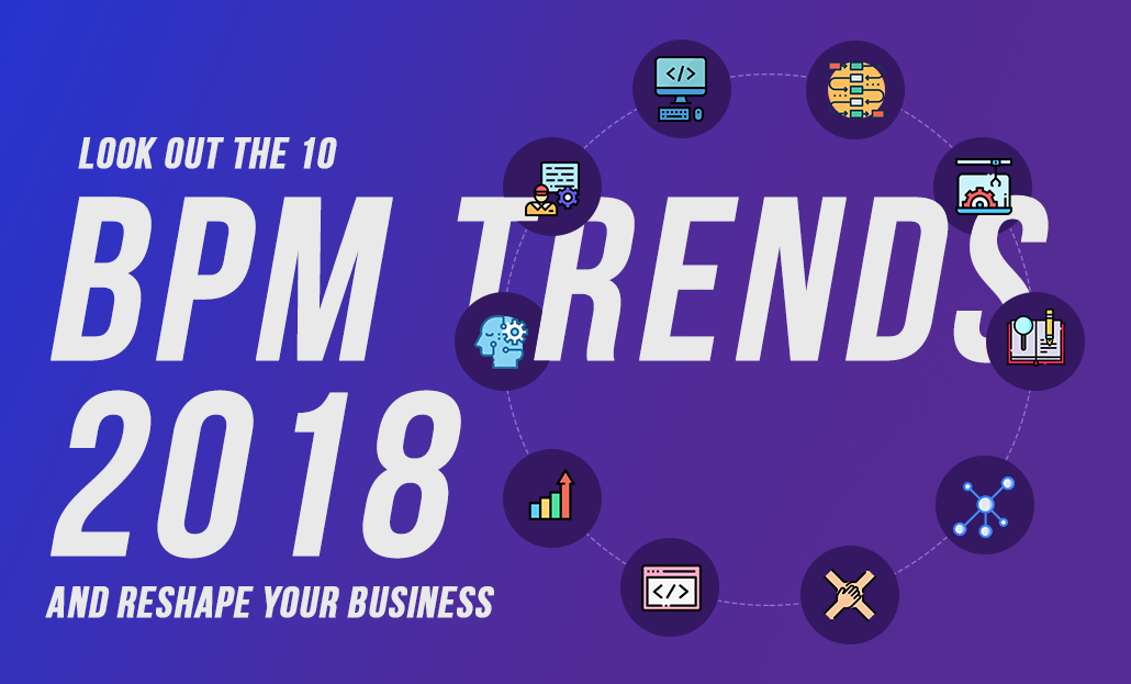 Look out for these top 10 BPM Trends & Reshape your Business Outcomes
