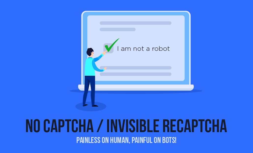 No CAPTCHA reCAPTCHA: Painless to Humans, Painful for Bots!