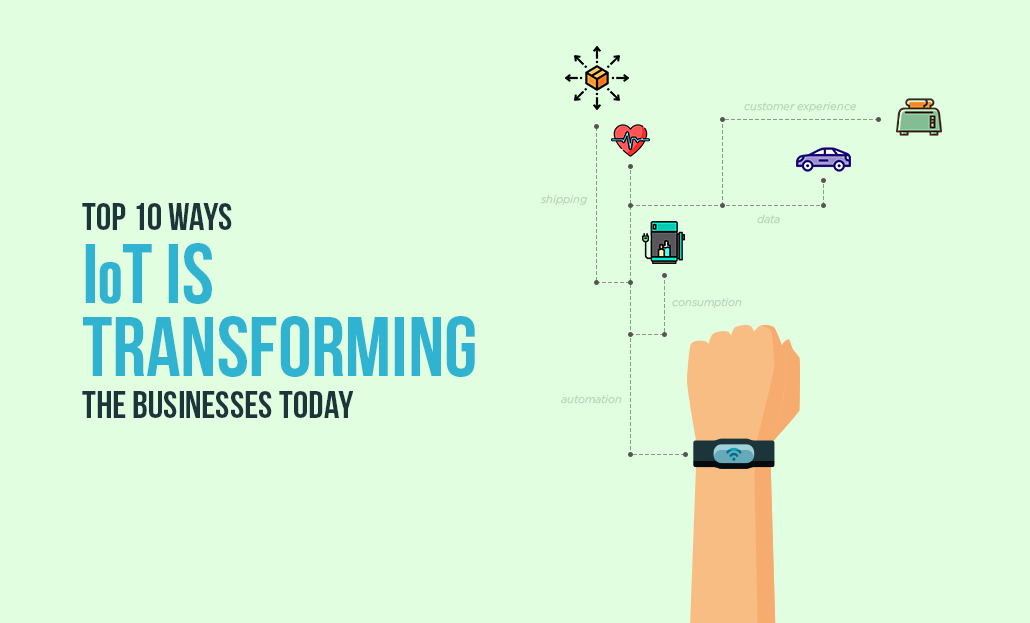 Top 10 Ways IoT is Transforming the Businesses Today