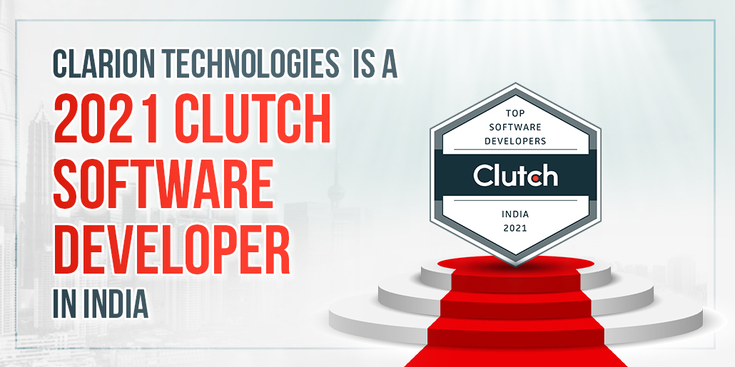 Clarion Technologies is a 2021 Clutch Software Developer in India