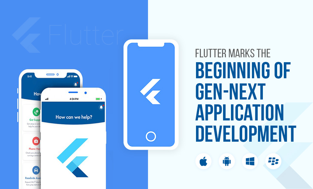 Flutter Marks the Beginning of Gen-Next Application Development