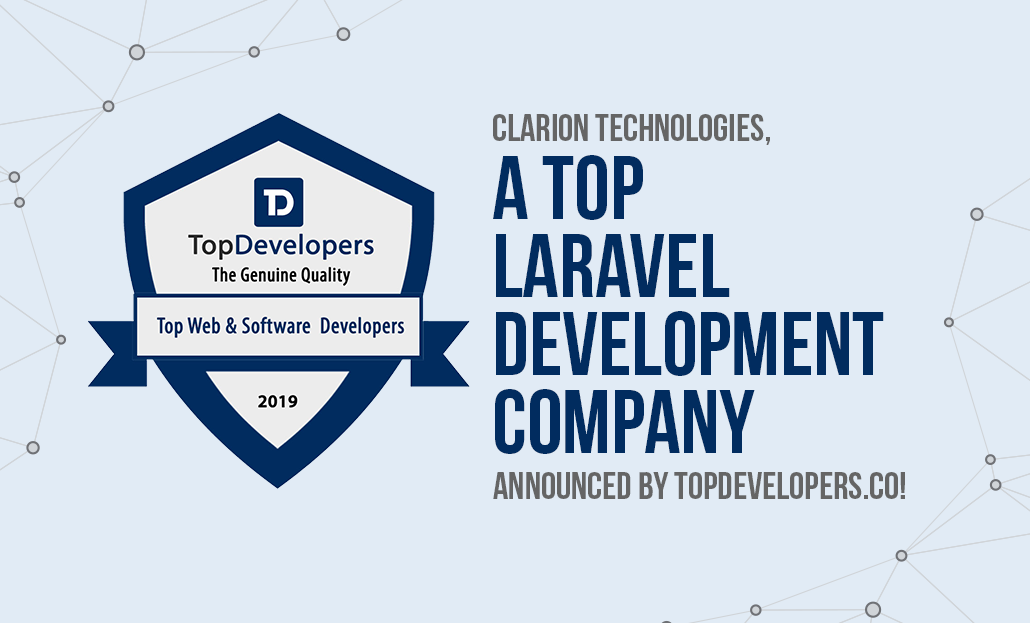 Clarion Technologies Named A Top Laravel Development Company