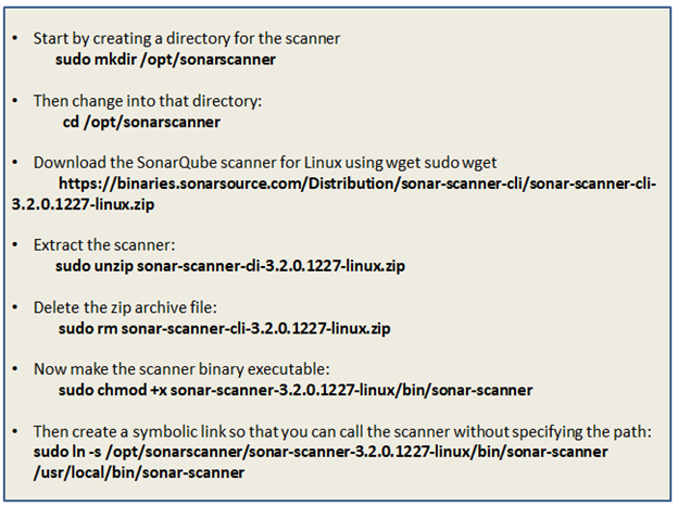 Run shell script file sonarscanner.sh