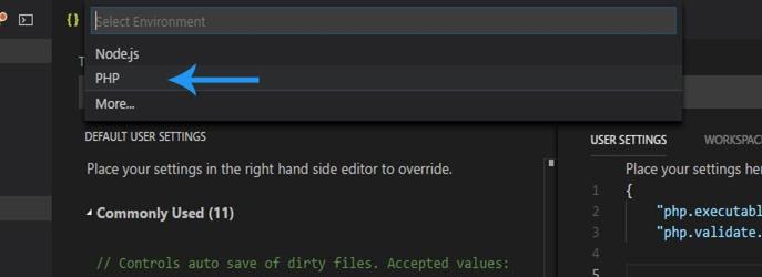 Configure PHP