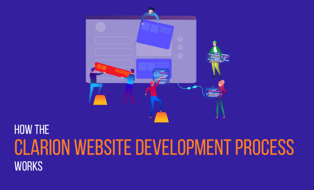 How the Clarion website development process works
